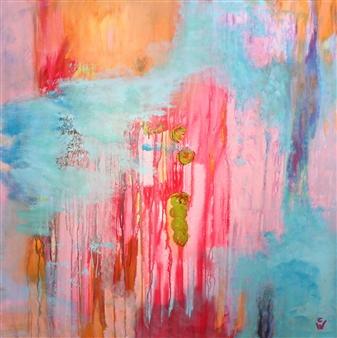 "Spirit Acrylic on Canvas 39.5"" x 39.5"""
