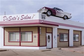 "Ash Fork, Arizona. Digital Photography 23.5"" x 35.5"""