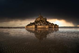 "Le Mont Saint Michel - Jonathan Zorn - Germany Photograph 0"" x 0"""