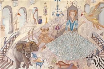 """Jane's Castle Oil on Canvas 18"""" x 30"""""""