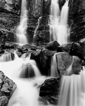 "Waterfall Gelatin Silver Print 15.5"" x 12"""