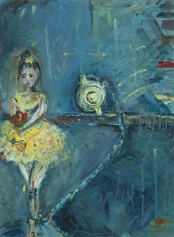 """Bound Oil on Canvas 24"""" x 18"""""""