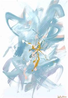 "Suavidad Infinita Acrylic on Canvas 39.5"" x 27.5"""