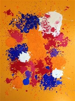"Joy Oil on Canvas 72"" x 54"""