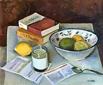 "Still Life with Milk_1 Oil on Canvas 20"" x 24"""