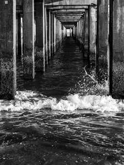 """Coney Island Photograph on Hahnemühle Paper 28"""" x 20"""""""