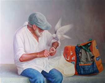 The Beggar and the Dove