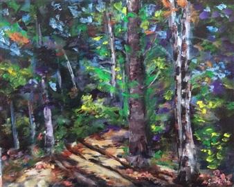 """The Path Acrylic on Canvas 16"""" x 20"""""""
