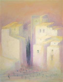 """Marmorières Acrylic on Canvas 35.5"""" x 25.5"""""""