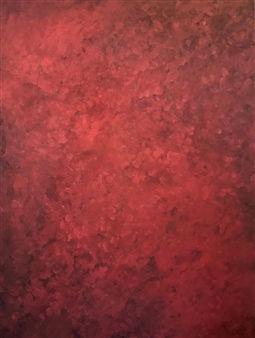 """Red II Oil on Canvas 48"""" x 36"""""""