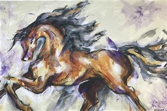 """Libre Acrylic on Canvas 24"""" x 36"""""""