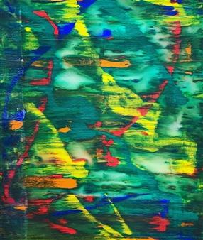 "REM Phase Acrylic on Canvas 47"" x 31.5"""