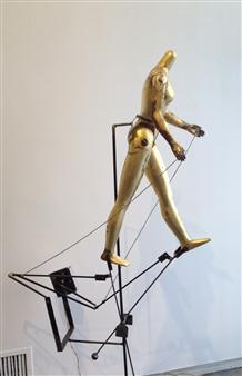"""Movement Mechanical Sculpture 66"""" x 19"""" x 40"""""""