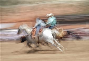 "Rodeo - 6 Photograph on Plexiglass 39"" x 56"""