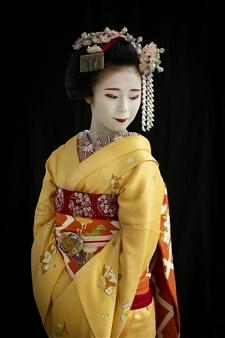 """Maiko in Kyoto Archival Pigment Print 40"""" x 30"""""""