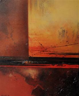 """Arizona I Acrylic & Mixed Media 30"""" x 24"""""""