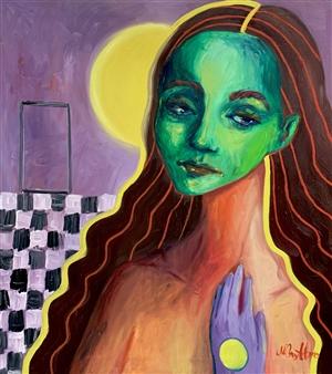"""Alisa Oil on Canvas 35.5"""" x 31.5"""""""