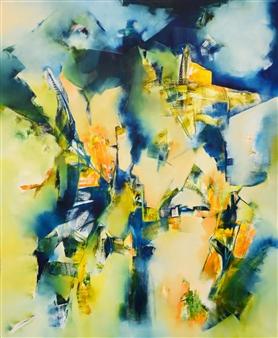 """Cuando Ya No Me Nombres Oil on Canvas 47.5"""" x 39.5"""""""