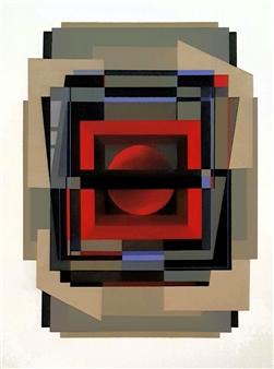 """Module 12 Acrylic on Canvas 20"""" x 16"""""""