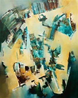 """Earth Oil on Canvas 39.5"""" x 31.5"""""""