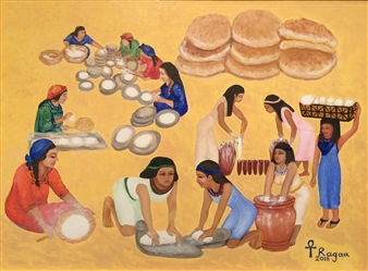 "Bread Oil on Canvas 34"" x 42"""