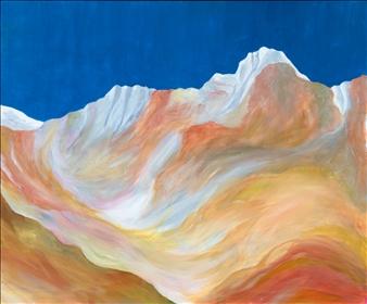 """Near Mamouth Acrylic on Canvas 20"""" x 24"""""""