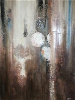 "Memories Acrylic on Canvas 39.5"" x 27.5"""