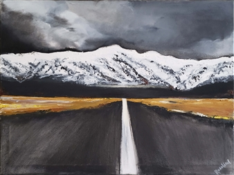 Distant Mountains Getting Closer