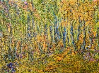 "Listopad Oil on Canvas 20"" x 27.5"""