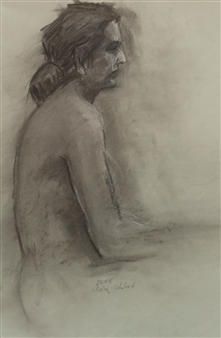 Female Semi Nude