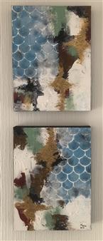 """Sky Acrylic on Canvas 16"""" x 12"""""""