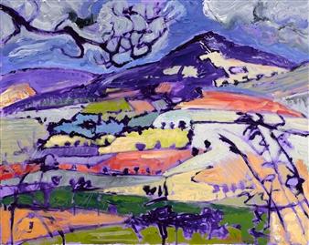 "Near Shillelagh County Wicklow Acrylic on Canvas 24"" x 30"""