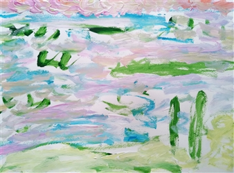 """Untitled 7 Acrylic on Paper 18"""" x 24"""""""
