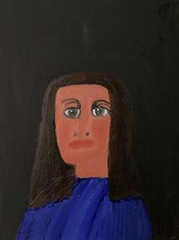 """Portrait Painting 1E Oil on Canvas 18"""" x 24"""""""
