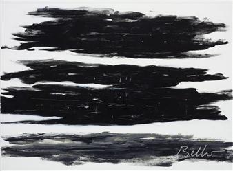 "Shades of Grey Acrylic on Canvas 30"" x 40"""