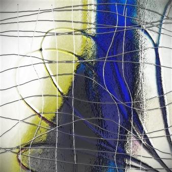 """Delicate Prison Digital Artwork on Canvas 35.5"""" x 35.5"""""""