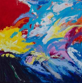 "Unselfish Love Acrylic on Canvas 48"" x 48"""