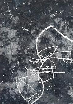 "3Xz Oil on Canvas 36.5"" x 26"""