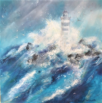The Azur Dancing Lighthouse