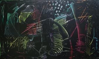 """Subconscious Acrylic on Canvas 72"""" x 36.2"""""""