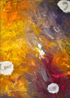 """Script 1 Acrylic & Resin on Canvas 40"""" x 30"""""""