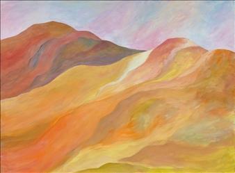 """Near Reno Acrylic on Canvas 18"""" x 24"""""""