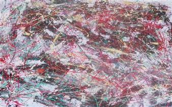 """Le Debut De La Fin Acrylic on Canvas 59"""" x 79"""""""