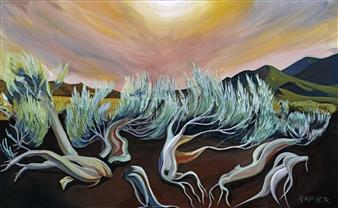 """Firedance Acrylic on Canvas 36"""" x 48"""""""