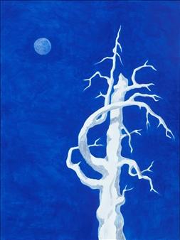 """Sierra Moon Acrylic on Canvas 24"""" x 18"""""""