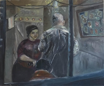"Family Oil on Canvas 30"" x 36"""