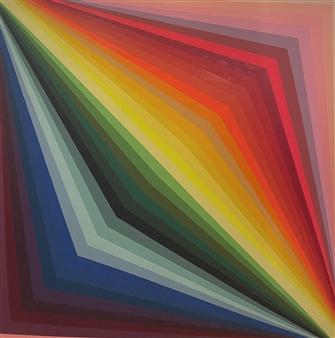 "Instamatic Acrylic on Canvas 72"" x 72"""