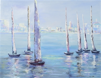 Sun, City, and Yachts