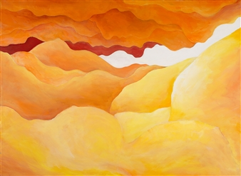 "Dunes Acrylic on Canvas 22"" x 30"""