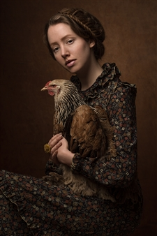 """The Elegance of the Chicken 1 Digital Photography 30"""" x 20"""" <span style='color:red;'>Sold</span>"""